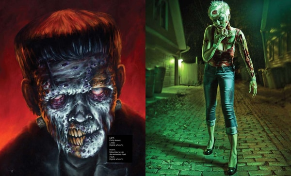 Zombie Lovers: Get an Early Look at The Zombook Art Book Coming in September