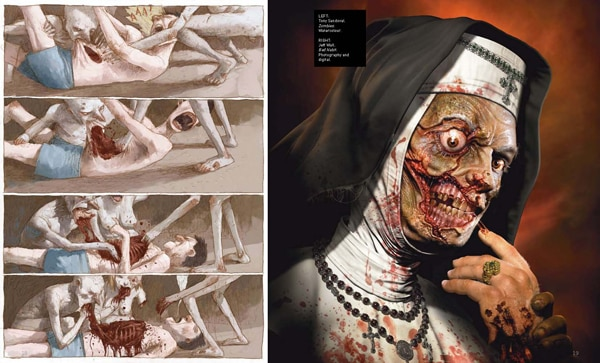 zombook3 - Zombie Lovers: Get an Early Look at The Zombook Art Book Coming in September