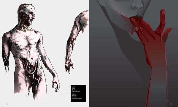 zombook4 - Zombie Lovers: Get an Early Look at The Zombook Art Book Coming in September