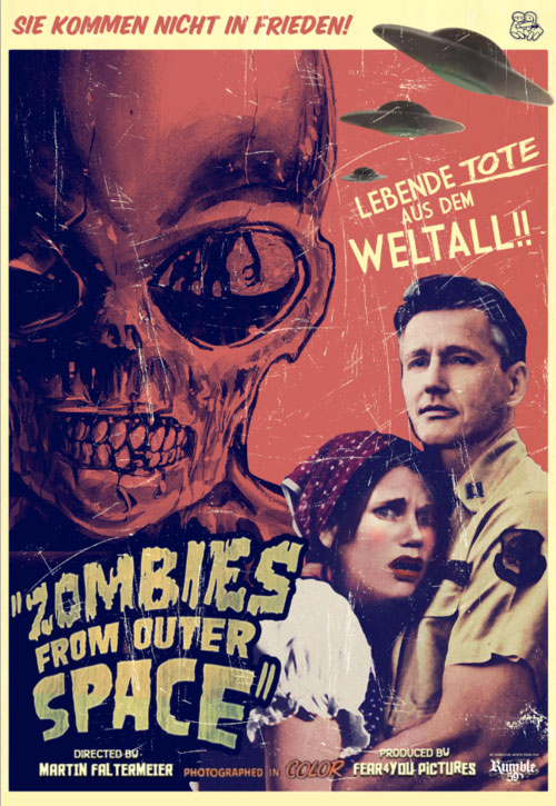Zombies from Outer Space - Prepare for Cosmic Carnage!