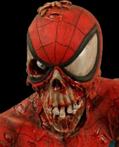 Marvel Zombies Spider-Man bust (click for larger image)